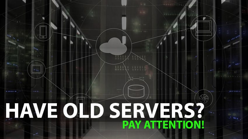 reasons to sell old servers